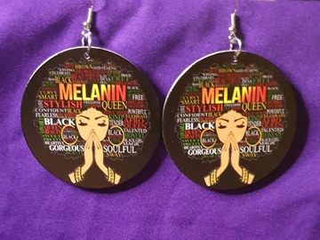 For Sale: Soul Sisters , Melanin Earrings