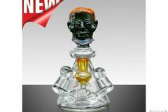 "Post Products: 8"" TATAOO Goblin Troll Beaker Base With 2 Arms Glass Water Pipe"