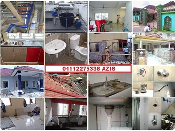 Services: plumbing dan renovation 01112275338 azis area taman permata
