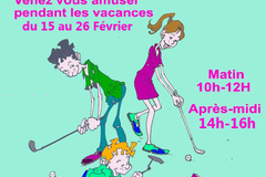 Actualité: Stages de golf jeunes pendant les vacances de février