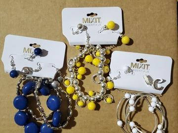 Buy Now: 24 New Mixit Bracelet Earring Sets $480 Value