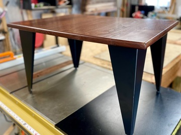 Selling with online payment: Solid Black Walnut Coffee Table