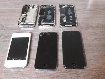 À vendre: lot iphone defectue