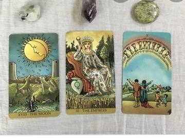 Selling: Quick same day  1 question -3 card Tarot reading