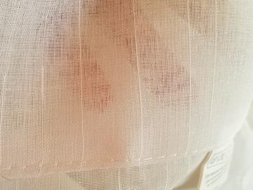 Vente: Paires de voilages blancs polyester 280x 240