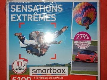 """Vente: Coffret Smartbox """"Sensations extrêmes"""" (279,90€)"""