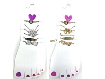 Buy Now: 24 Cards Anklet Bracelets 6 Anklets per card- Total 144 Anklets