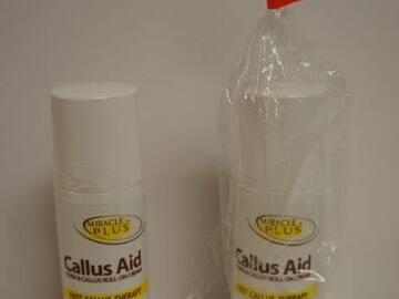 Liquidation/Wholesale Lot: Wholesale Miracle Plus Callus Aid Roll-On Cream – 3.5 Oz.
