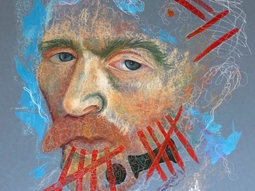 Sell Artworks: Gogh Seek the Beauty In Your Struggle
