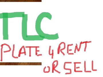 TLC Plate(s) for Rent or Sale: TLC plate for rent $100/week or sell  or rent to purchase
