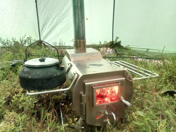Renting out (per day): Telttakamina Gstove