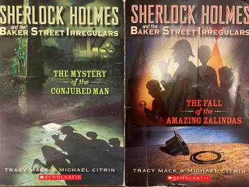Selling with online payment: Sherlock Homes and the Baker Street Irregulars (Set)