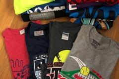 Liquidation/Wholesale Lot: 15 Advert T-shirts (bundle) Unisex