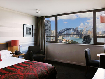 Book now: Work from hotel, with breathtaking Sydney Harbour views & Wi-Fi