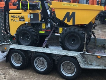 Weekly Equipment Rental: 1 ton High lift dumper