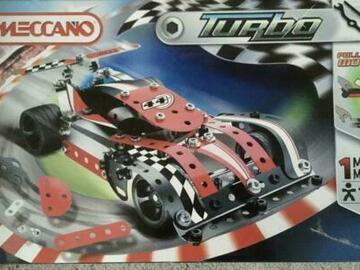 Vente avec paiement en ligne: Meccano turbo 6354