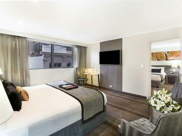 Space by day (Beta): Work from Hotel at Rydges World Square | Evening