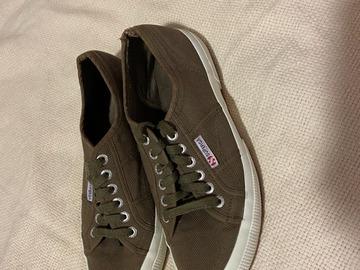 Myydään: brown Superga Shoes (Size: 39)