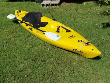 Renting out with online payment: Perception Caster 11.5 Kayak