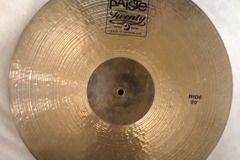 "Selling with online payment: Paiste Twenty Series 20"" Ride Cymbal"