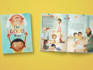 Illustration work : 32 Page Picture Book in Stages: Package 3