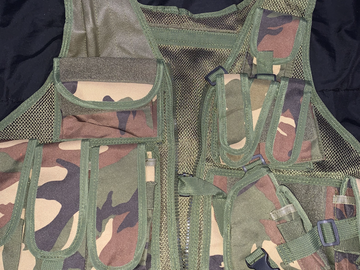 Selling: Forest Camo Airsoft Vest