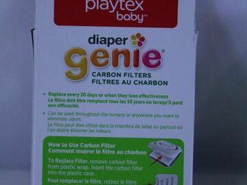 Compra Ahora: Lot of 68 Boxes Diaper Genie Carbon Filter Refills