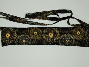 Vente au détail: Bouillotte sèche - bandeau noir pissenlit - modèle h/f