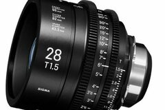 Vermieten: SIGMA FF HIGH SPEED PRIME 28mm, T1.5 FF
