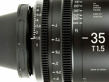 Vermieten: SIGMA FF HIGH SPEED PRIME 35mm, T1.5 FF
