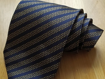 Online payment: Brand new Stefano Ricci tie blue/yellow