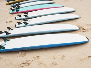 Vermiete dein Board pro Tag: Softy Surfboard Rentals