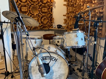 "Show Off Your Drums! (no sales): 1958 Gretsch Broadkaster ""Bop Outfit"" w/ 1966 'Renown' Snare"