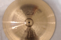 "Selling with online payment: Paiste Signature 18"" Heavy China Cymbal"