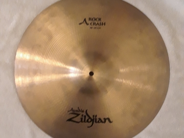"Selling with online payment: Zildjian A Series 18"" Rock Crash Cymbal"