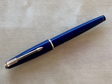 Renting out: Vintage blue Parker 17 Lady with M nib