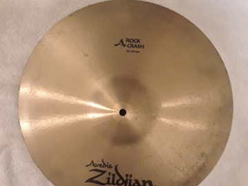 """Selling with online payment: Zildjian A Series 16"""" Rock Crash Cymbal"""