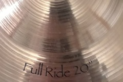 "Selling with online payment: Paiste Signature 20"" Full Ride Cymbal"