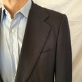 Online payment: Vintage CHESTER BARRIE hand made Blazer 40/50 Navy blue Wool