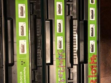 À vendre: Cartouches entamées - toner pour HP276