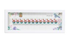 : A Delightful Chinese Zodiac Wall Art, Hand-painted Mahjong Tiles