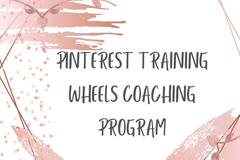 Offering online services: Pinterest Training Wheels Program