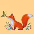 Illustration work : Animal characters for book illustrations