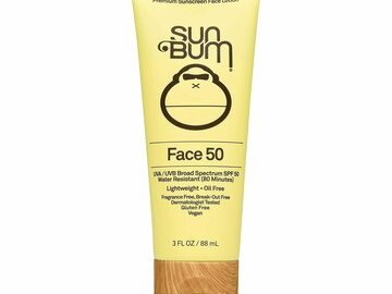 Buy Now: Sun Bum Original SPF 50 Sunscreen Face Lotion 3.0 oz - Lot of 20