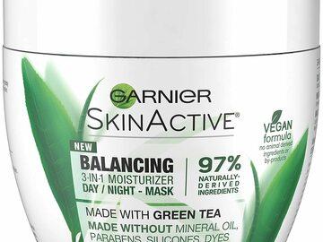 Buy Now: Garnier SkinActive 3-in-1 Face Moisturizer lot of 12  6.7oz