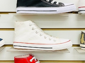 Compra Ahora: KEDI Sport Superstar Men's High-Top Canvas Shoes