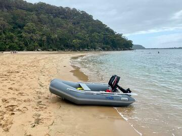Hourly Rate: Inflatable Boat Hire