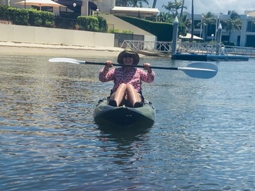 Hourly Rate: Easy Paddle Kayak - Perfect for Families