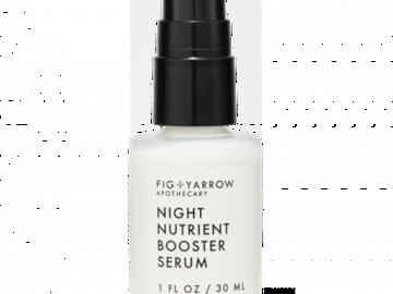 Liquidation/Wholesale Lot: FIG+YARROW Apothecary Night Nutrient Booster Serum – 1 Fl. OZ.