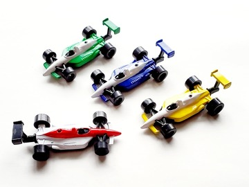 Buy Now: Metal Diecast 1/64 Scale Indy Car Toys – Working Wheels